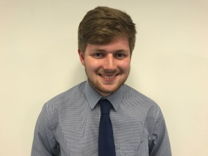 Chris Warner has begun a year-long work placement with Gibson Hewitt.